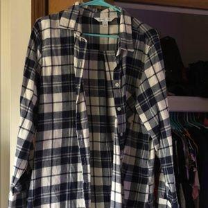 Button down flannel !!!